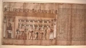 Il libro dei morti lungo 18 metri